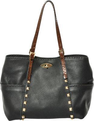 Carla Mancini Andrea Tote Black - Carla Mancini Designer Handbags