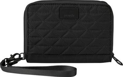 Pacsafe RFIDsafe W150 Black - Pacsafe Women's Wallets