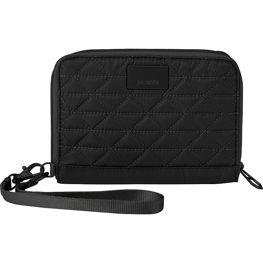Pacsafe RFIDsafe W150 Black Pacsafe Women s Wallets