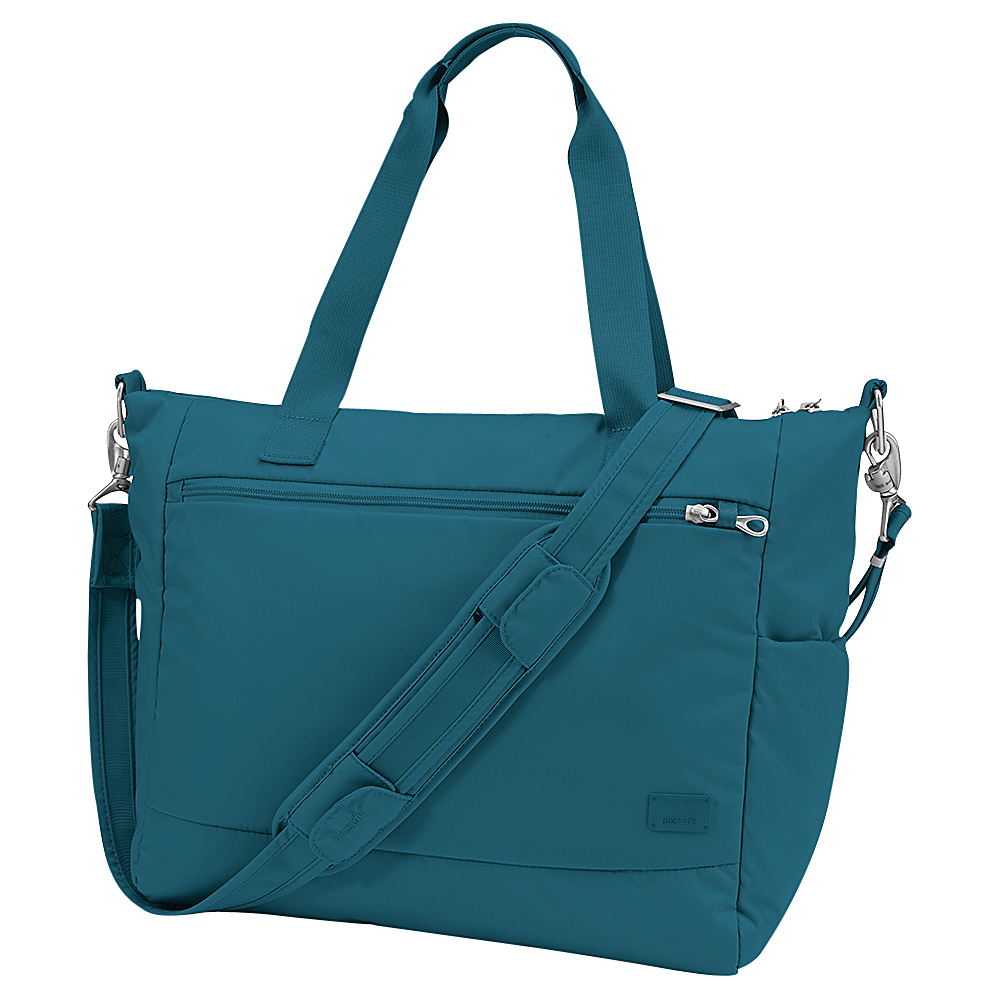 Pacsafe Citysafe CS400 Teal Pacsafe Fabric Handbags