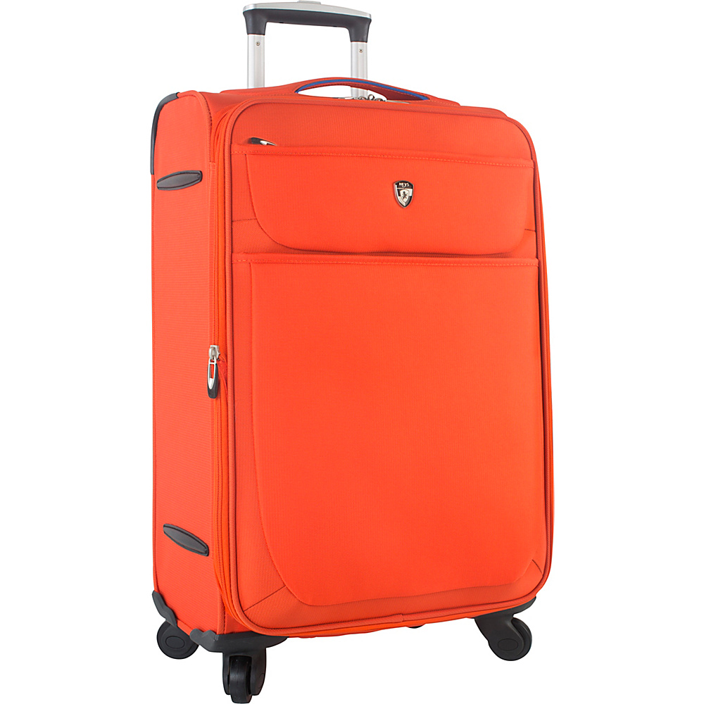 Heys America Argus 26 Spinner Luggage Orange Heys America Softside Checked