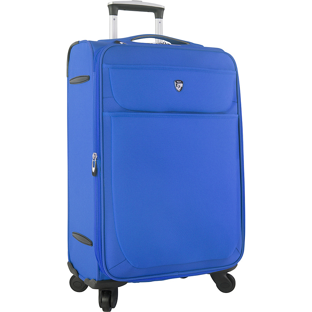 Heys America Argus 26 Spinner Luggage Blue Heys America Softside Checked