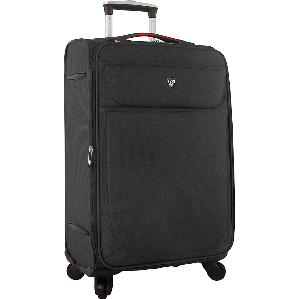 Heys America Argus 26 Spinner Luggage Black Heys America Softside Checked