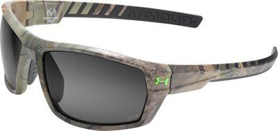 Under Armour Eyewear Ranger Storm Sunglasses Satin Realtree/Gray Storm ANSI Polarized - Under Armour Eyewear Sunglasses