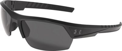 Under Armour Eyewear Igniter 2.0 Storm Sunglasses Satin Black WWP/Gray Storm ANSI Polarized - Under Armour Eyewear Sunglasses 10352256