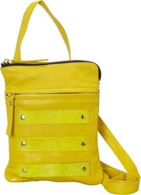 Latico Leathers Jemma Crossbody Yellow - Latico Leathers Leather Handbags
