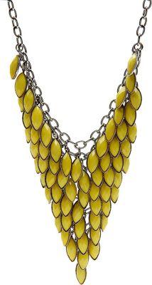 Image of Alexa Starr Bib Necklace Yellow - Alexa Starr Jewelry