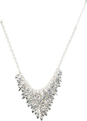 Image of Alexa Starr Bib Necklace Silver - Alexa Starr Jewelry