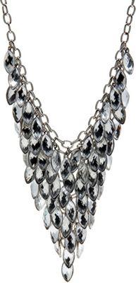 Image of Alexa Starr Bib Necklace Crystal - Alexa Starr Jewelry