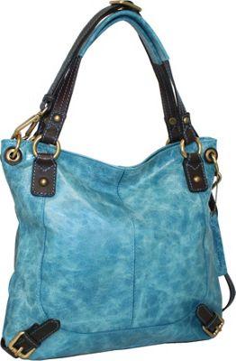 Nino Bossi Torino Satchel Denim - Nino Bossi Leather Handbags