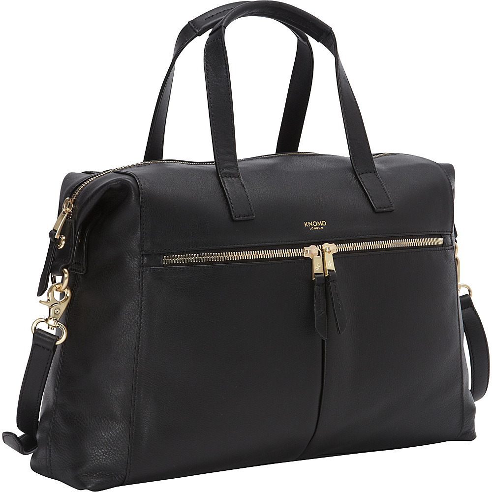 KNOMO London Audley Laptop Tote Black KNOMO London Women s Business Bags