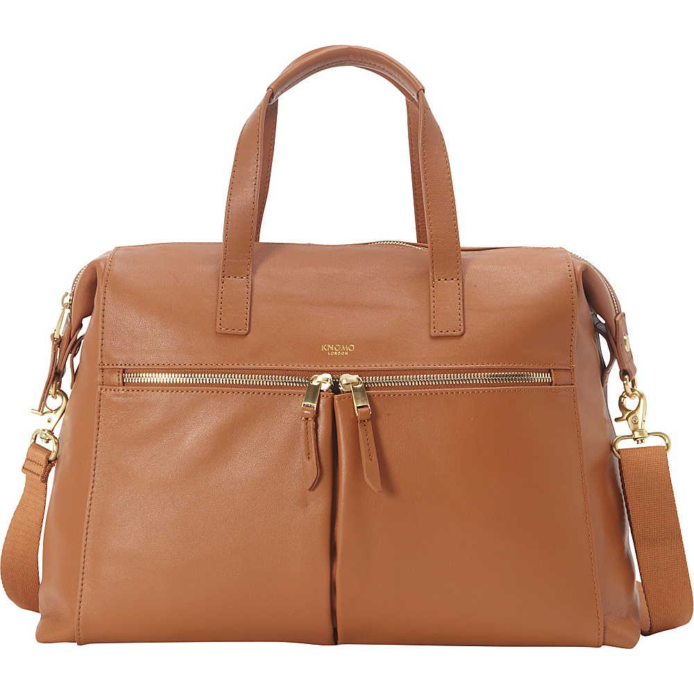 KNOMO London Audley Laptop Tote Caramel KNOMO London Women s Business Bags