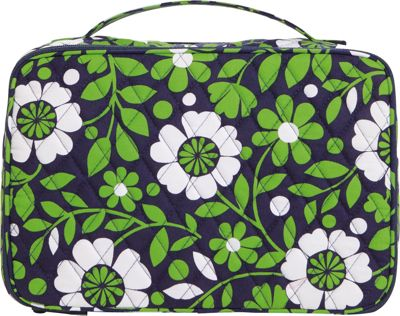Vera Bradley Large Blush & Brush Makeup Case Lucky You - Vera Bradley Ladies Cosmetic Bags