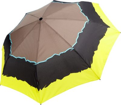 Knirps Knirps T2 Duomatic Umbrella River Citrin - Knirps Umbrellas and Rain Gear