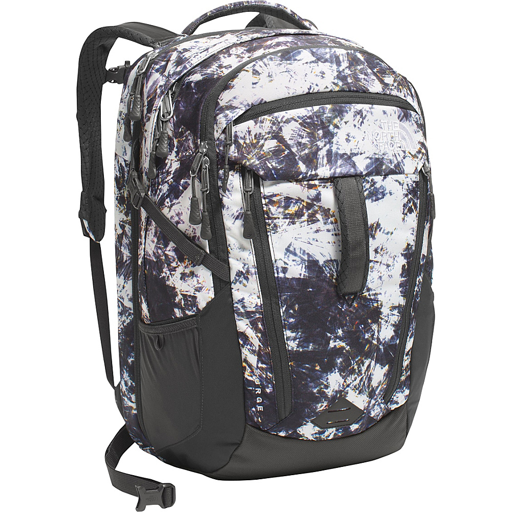 The North Face Women s Surge Laptop Backpack Diamond Life Print Asphalt Grey The North Face Business Laptop Backpacks