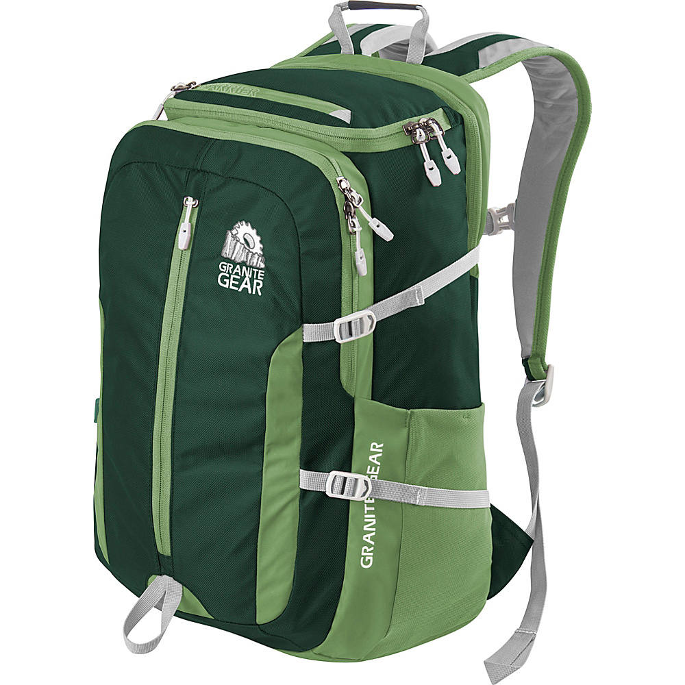 Granite Gear Splitrock Backpack BorealGreen Moss Chromium Granite Gear Everyday Backpacks