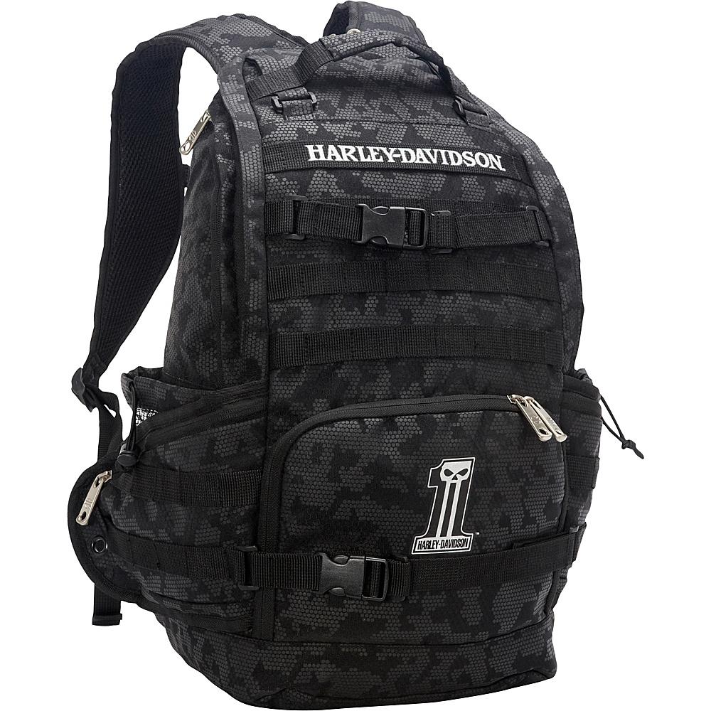harley davidson by athalon stellar backpack 2 colors. Black Bedroom Furniture Sets. Home Design Ideas