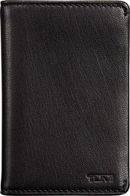 Tumi Chambers Multi Window Card Case Black - Tumi Men's Wallets