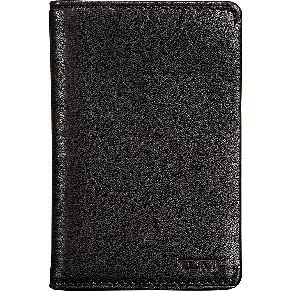 Tumi Chambers Multi Window Card Case Black Tumi Men s Wallets