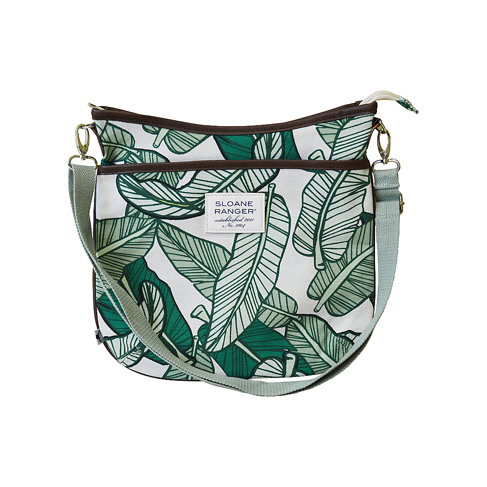 Sloane Ranger Large Crossbody Banana Leaf Sloane Ranger Fabric Handbags