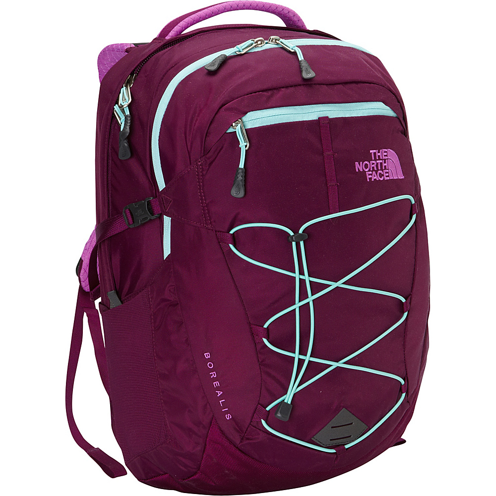 The North Face Women's Borealis Laptop Backpack Pamplona Purple/Bonnie Blue - The North Face Laptop Backpacks