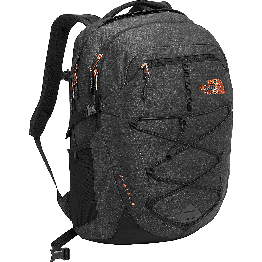 The North Face Womens Borealis Laptop Backpack - 15 TNF Black Heather - The North Face Business & Laptop Backpacks - Backpacks, Business & Laptop Backpacks