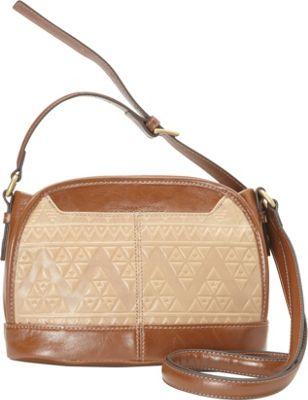 Tignanello Soho Vintage Embossed Crossbody Frappe - Tignanello Leather Handbags