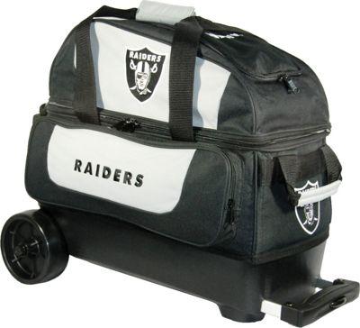 KR Strikeforce Bowling NFL Double Roller Bowling Bag Oakland Raiders - KR Strikeforce Bowling Bowling Bags