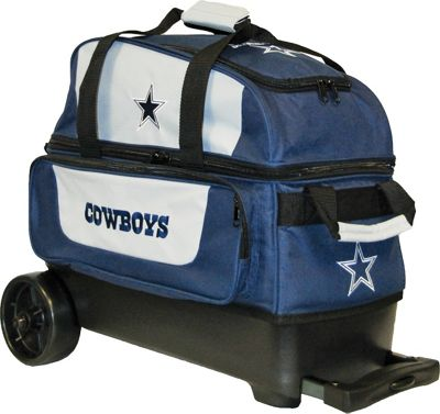 KR Strikeforce Bowling NFL Double Roller Bowling Bag Dallas Cowboys - KR Strikeforce Bowling Bowling Bags