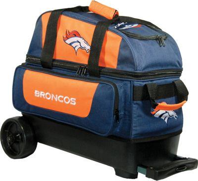 KR Strikeforce Bowling NFL Double Roller Bowling Bag Denver Broncos - KR Strikeforce Bowling Bowling Bags