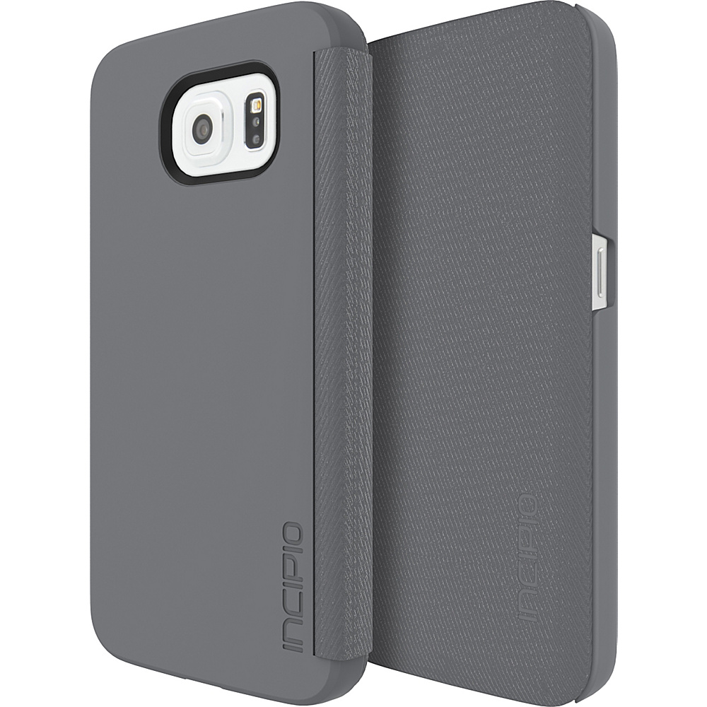 Incipio Lancaster for Samsung Galaxy S6 Charcoal - Incipio Electronic Cases - Technology, Electronic Cases