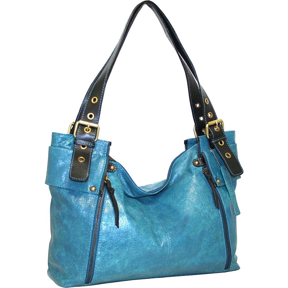 Nino Bossi Be Aggressive Tote Denim - Nino Bossi Leather Handbags
