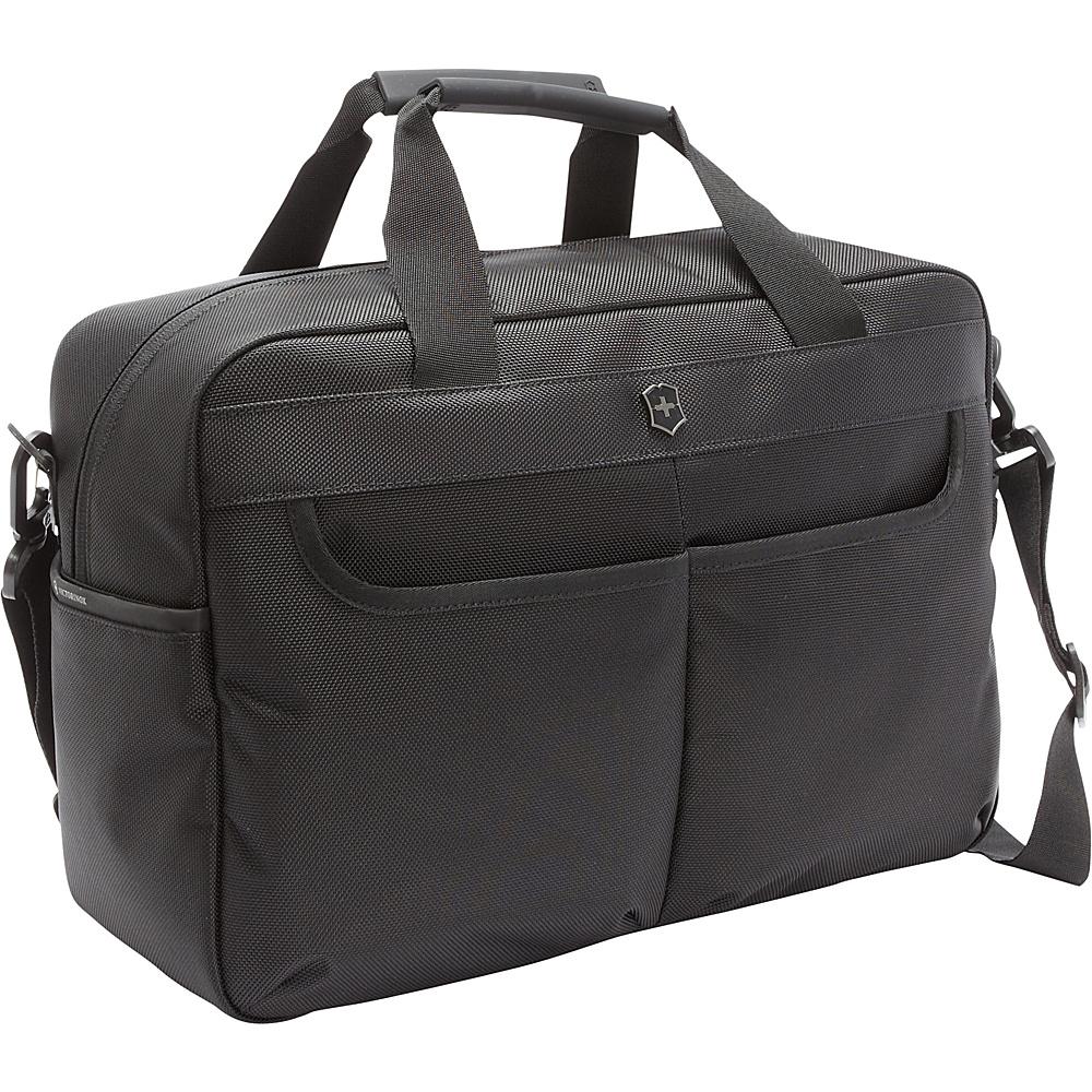 Victorinox Werks Traveler 5.0 WT Tote Black - Victorinox Luggage Totes and Satchels