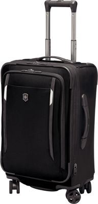 Victorinox Werks Traveler 5.0 WT 22 Dual-Caster Black - Victorinox Small Rolling Luggage