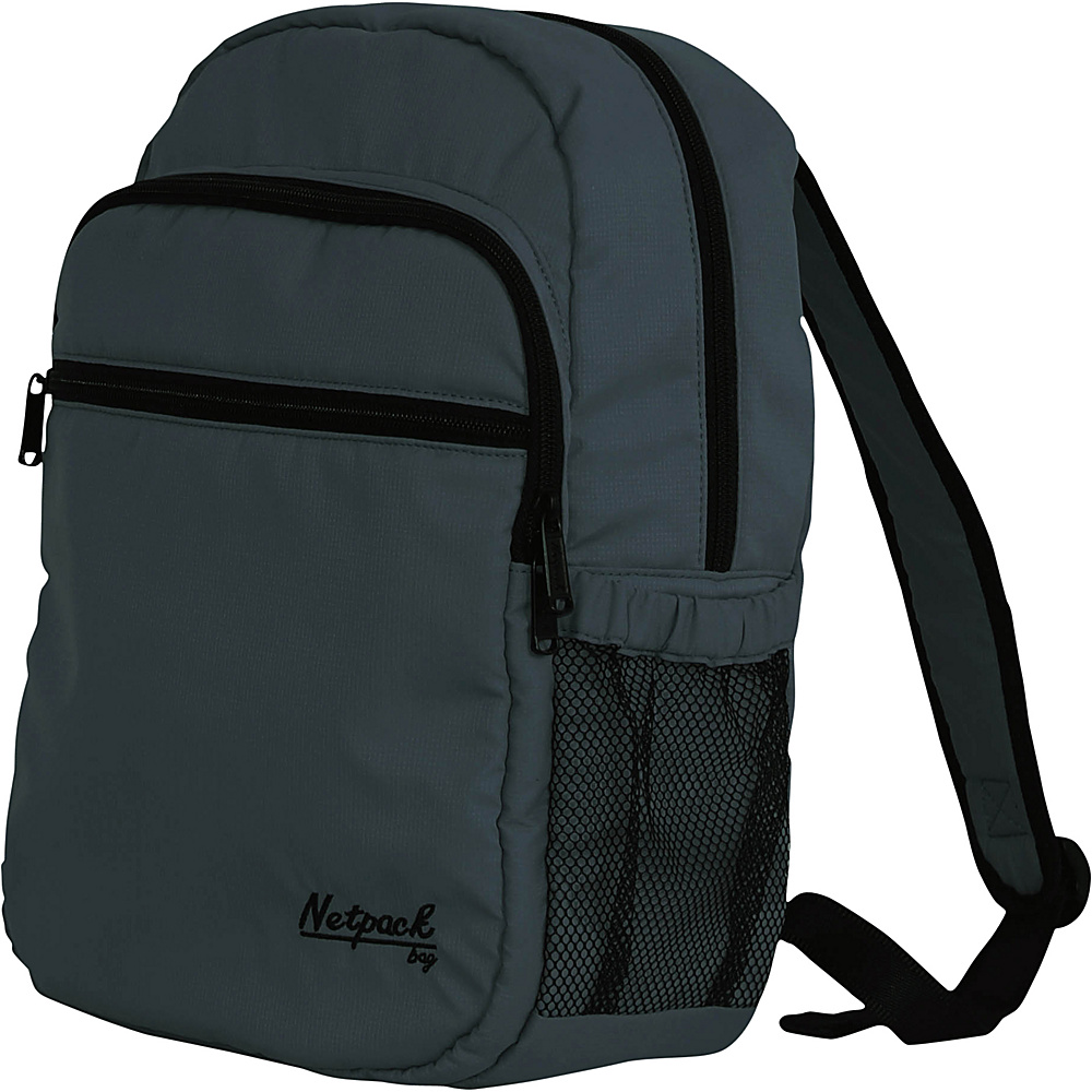Netpack Soft Lightweight Day Pack Grey - Netpack Everyday Backpacks