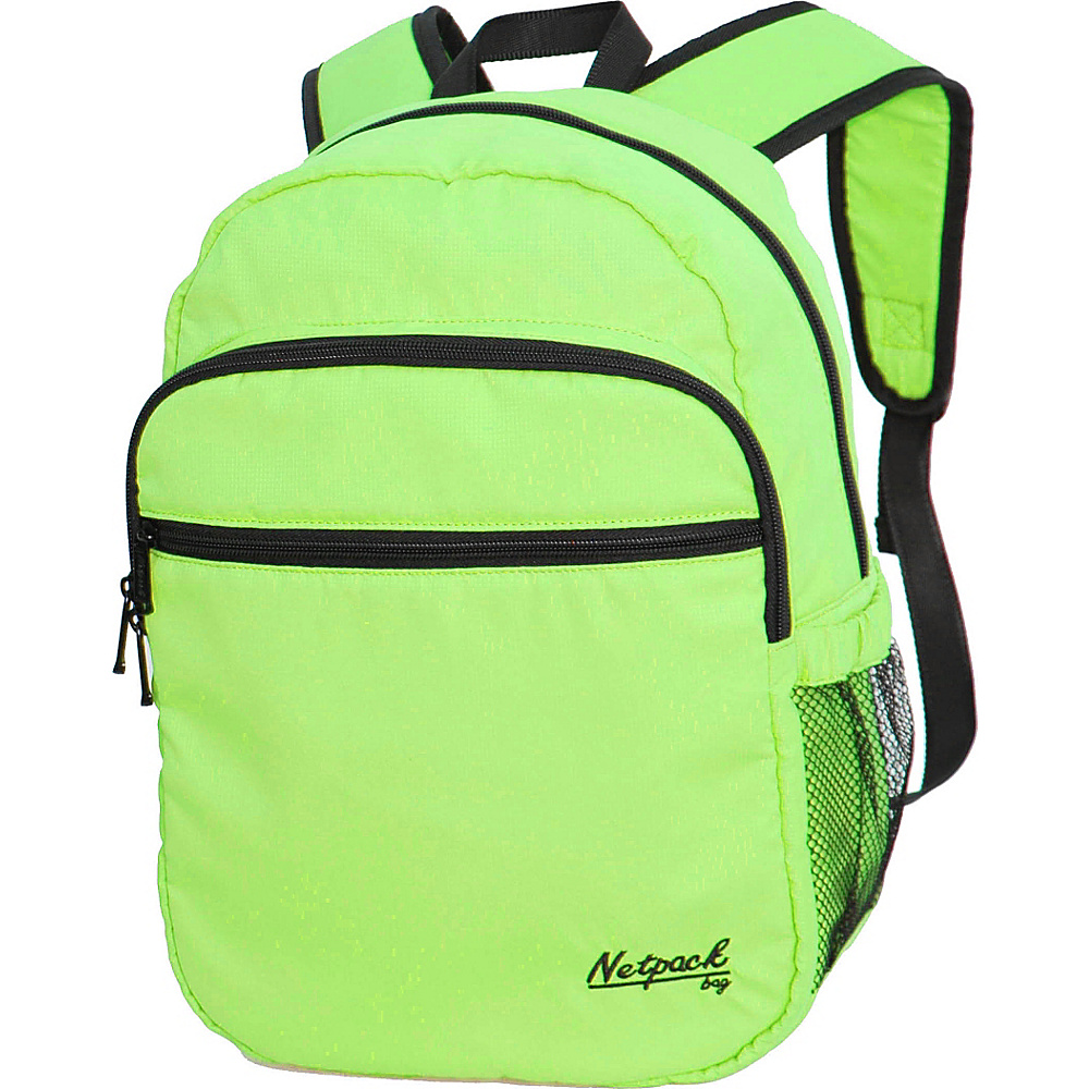 Netpack Soft Lightweight Day Pack Green - Netpack Everyday Backpacks