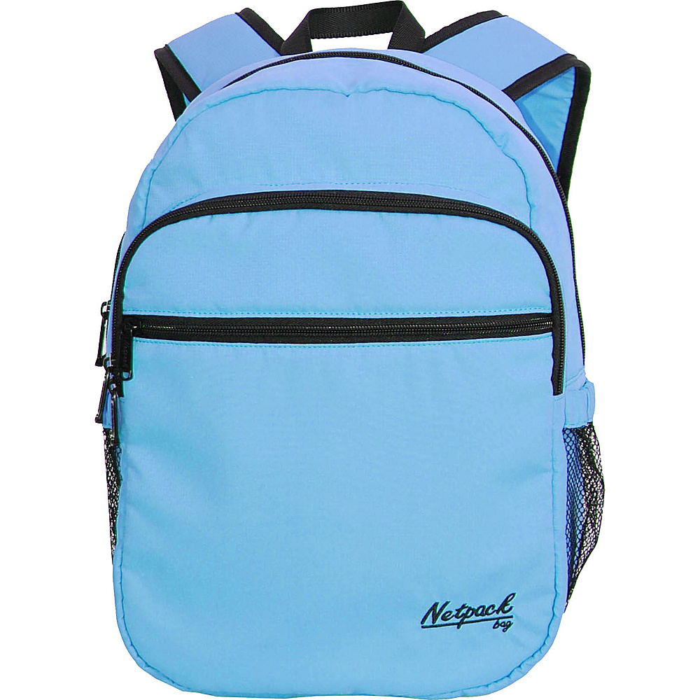 Netpack Soft Lightweight Day Pack Blue - Netpack Everyday Backpacks