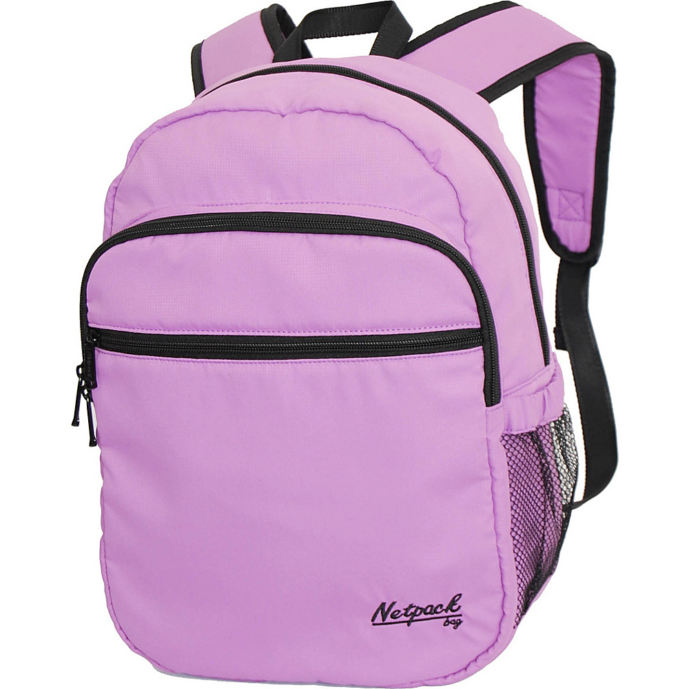 Netpack Soft Lightweight Day Pack Purple - Netpack Everyday Backpacks