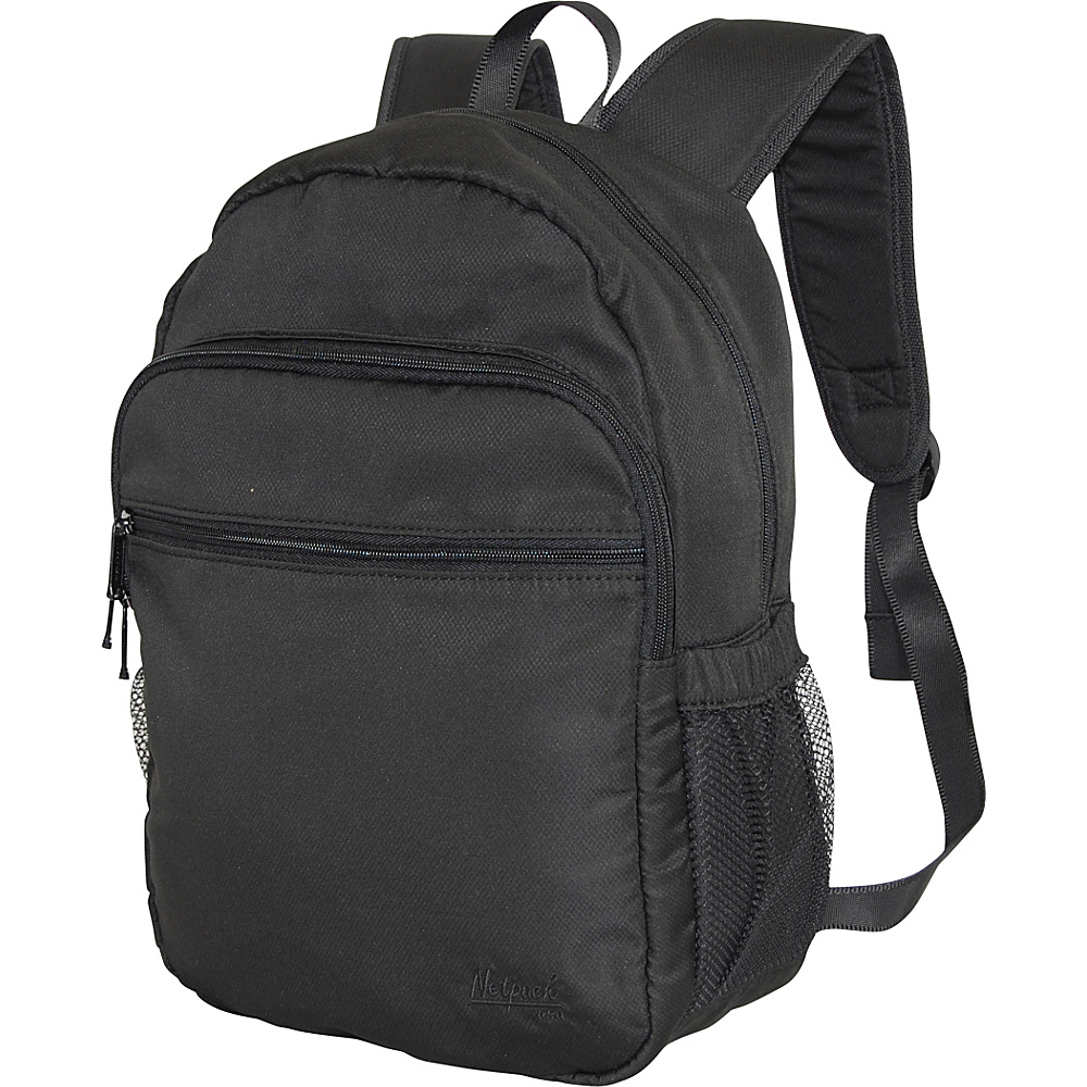 Netpack Soft Lightweight Day Pack Black Netpack Everyday Backpacks