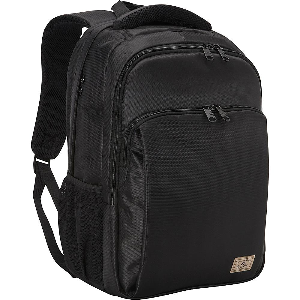 Everest City Laptop Backpack Black - Everest Business & Laptop Backpacks - Backpacks, Business & Laptop Backpacks