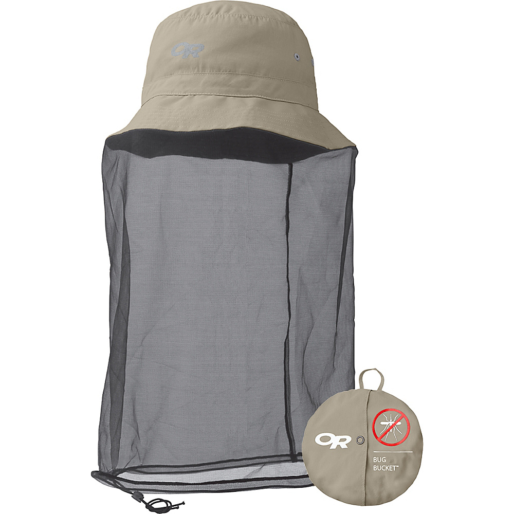 Outdoor Research Bug Bucket XL - Khaki - Outdoor Research Hats/Gloves/Scarves - Fashion Accessories, Hats/Gloves/Scarves