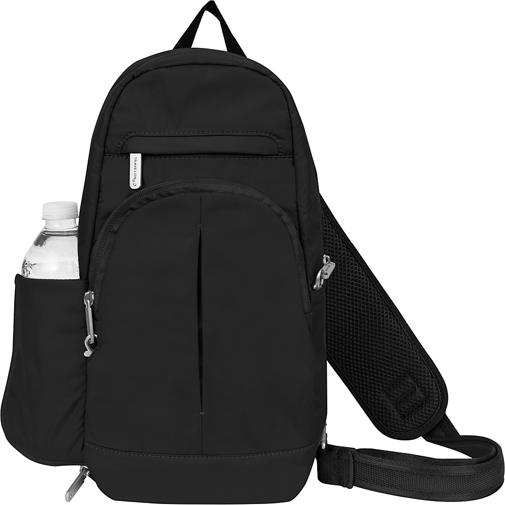 Travelon Anti-Theft Classic Light Sling Black/Gray - Travelon Slings - Backpacks, Slings