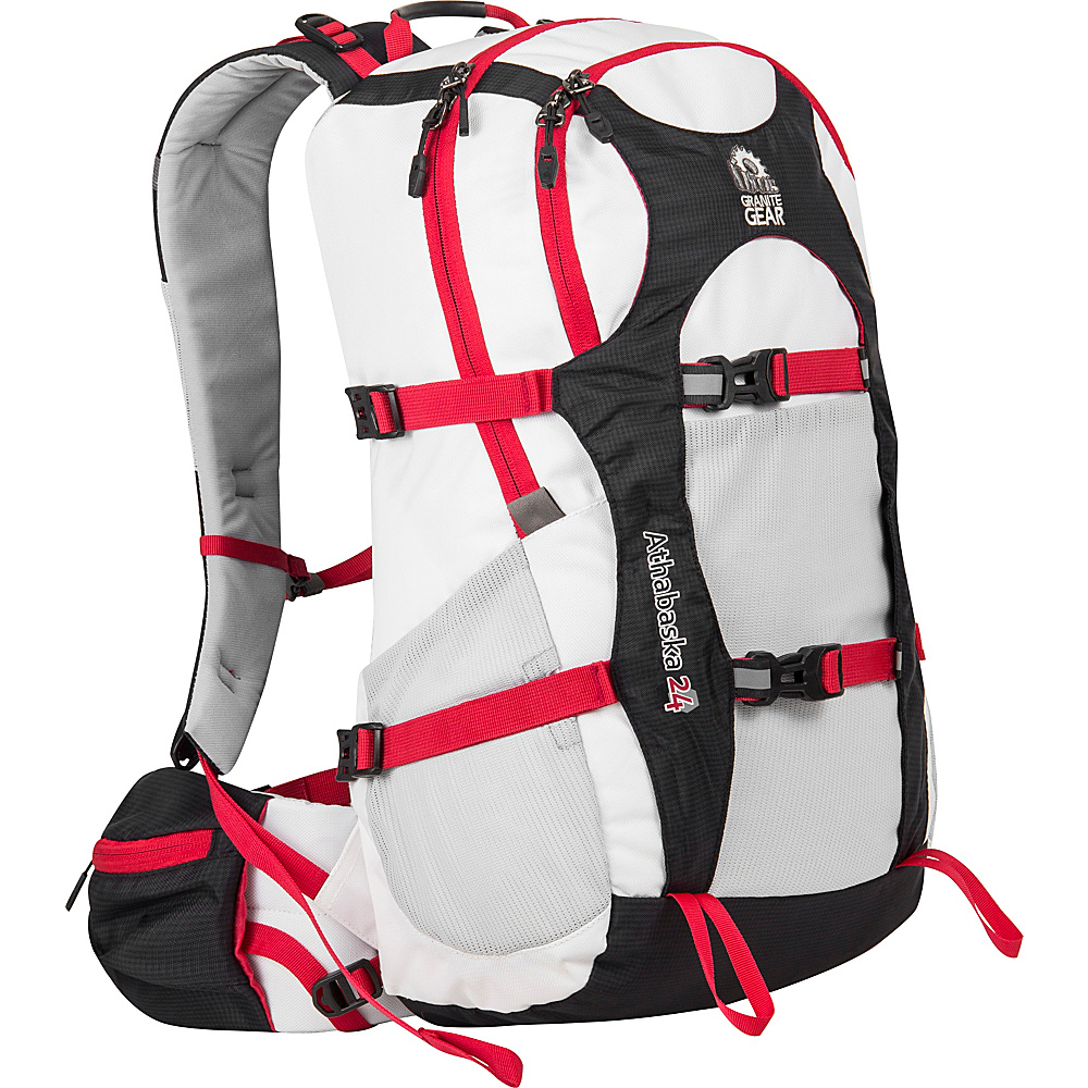 Granite Gear Athabasca 24 Day Pack White Black Tamarillo Granite Gear Day Hiking Backpacks