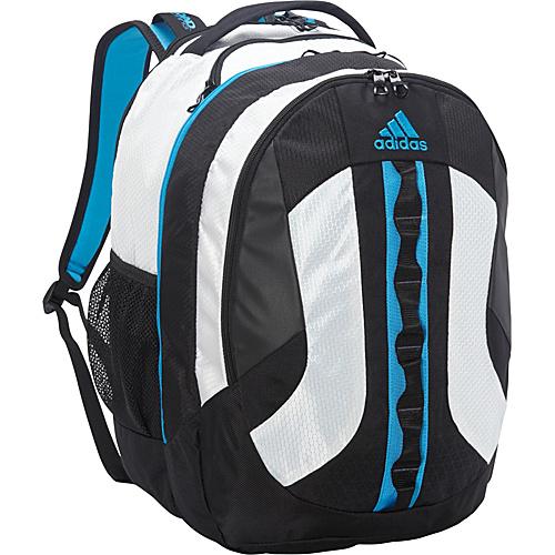 8c1724cb15 UPC 716106750823 product image for adidas Prime Backpack Neo White Solar  Blue - adidas Laptop ...