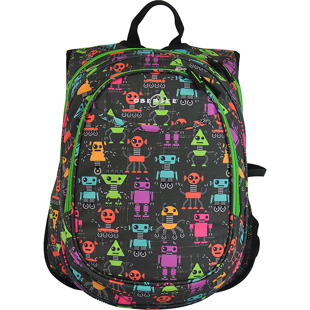 Obersee Kids Pre School All In One Backpack With Cooler Robots Obersee Everyday Backpacks