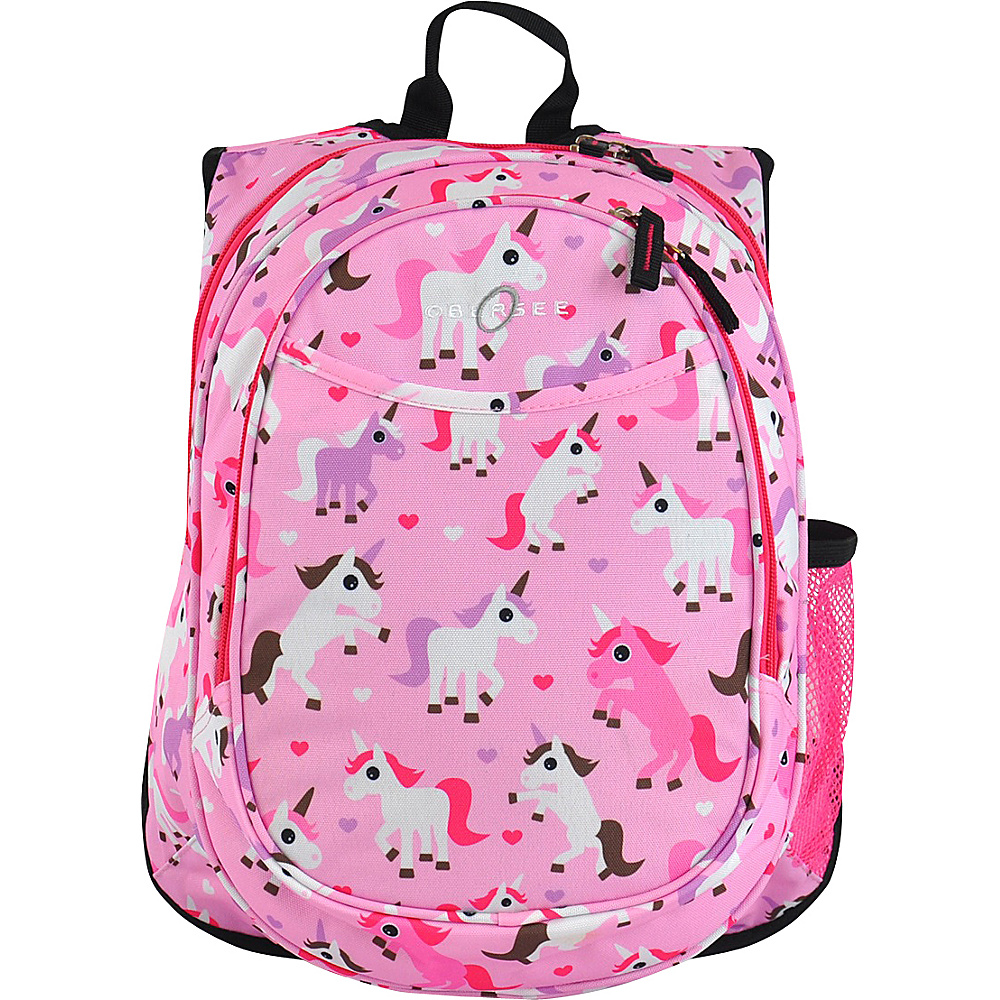 Obersee Kids Pre School All In One Backpack With Cooler Unicorn Obersee Everyday Backpacks