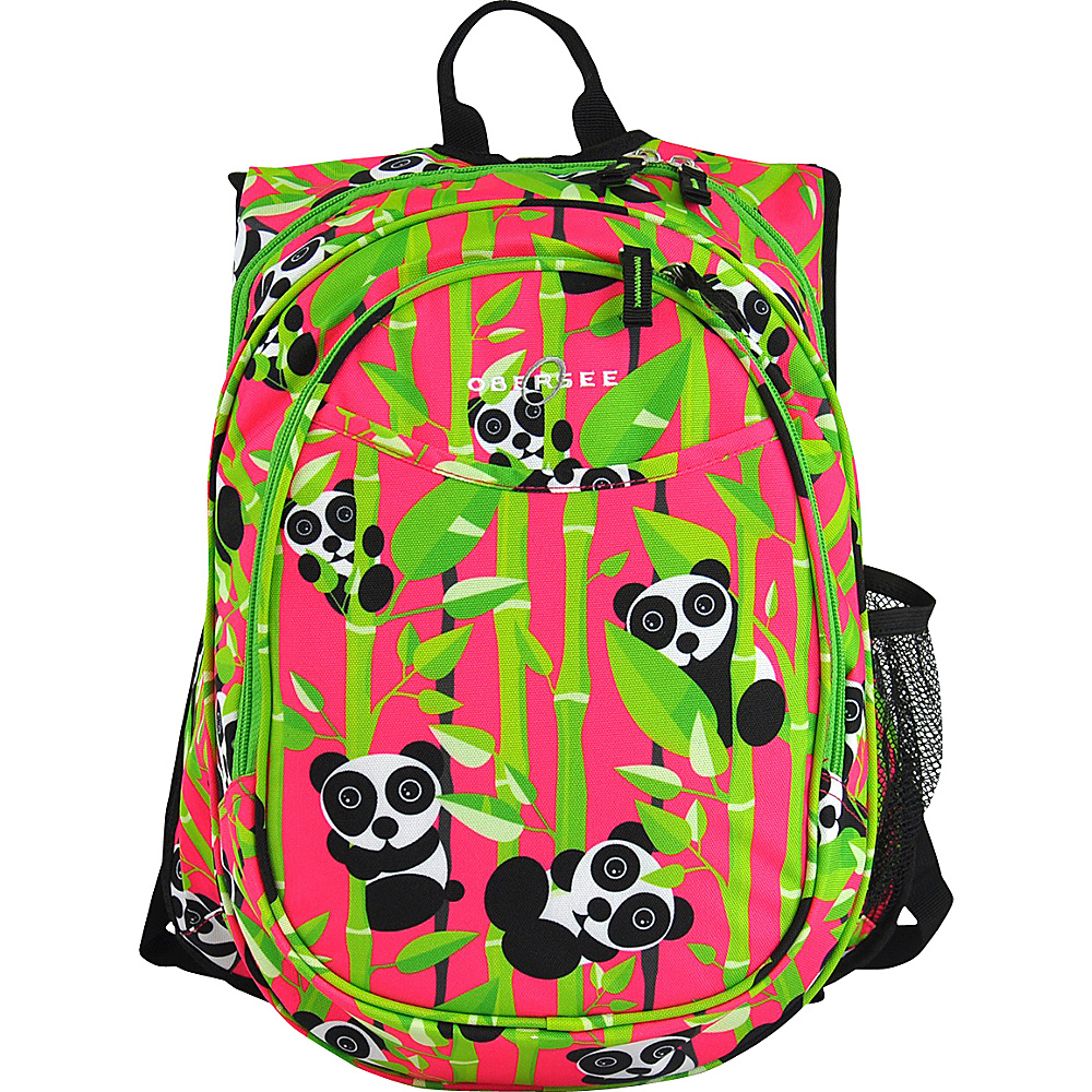 Obersee Kids Pre School All In One Backpack With Cooler Panda Obersee Everyday Backpacks