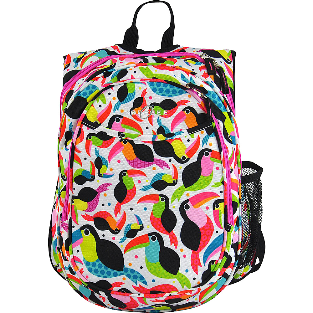 Obersee Kids Pre School All In One Backpack With Cooler Toucan Obersee Everyday Backpacks