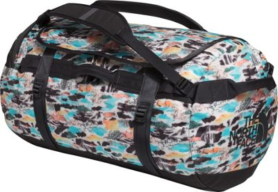 The North Face Base Camp Duffel Large Snow White Cutout Camo Print/Ashalt Grey - The North Face Outdoor Duffels
