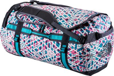 The North Face Base Camp Duffel Large Kokomo Green Maze Print/Kokomo Green - The North Face All Purpose Duffels